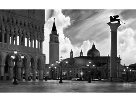 Fotobehang Vlies | Venetië, Steden | Zwart | 368x254cm (bxh)