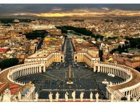 Fotobehang Steden, Rome | Bruin | 208x146cm