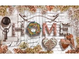 Fotobehang Vlies | Home, Modern | Grijs, Bruin | 368x254cm (bxh)
