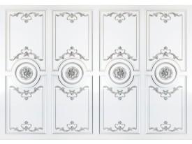 Fotobehang Vlies | Klassiek | Zilver, Wit | 368x254cm (bxh)