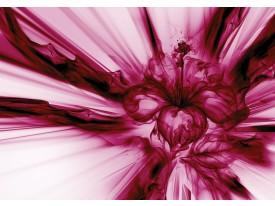 Fotobehang Vlies | Abstract | Paars, Roze | 368x254cm (bxh)