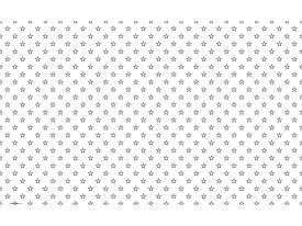 Fotobehang Vlies | Sterretjes | Grijs, Wit | 368x254cm (bxh)
