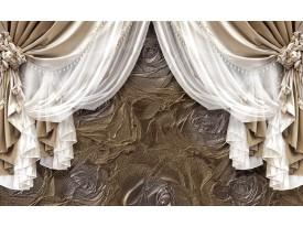 Fotobehang Vlies | Slaapkamer | Goud, Zilver | 368x254cm (bxh)