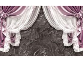 Fotobehang Vlies | Slaapkamer | Paars, Zilver | 368x254cm (bxh)