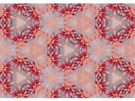 Fotobehang Vlies | Bloemen | Rood, Oranje | 368x254cm (bxh)