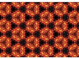 Fotobehang Vlies | Abstract | Bruin, Oranje | 368x254cm (bxh)