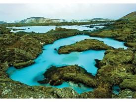 Fotobehang Vlies | Natuur | Turquoise, Groen | 368x254cm (bxh)