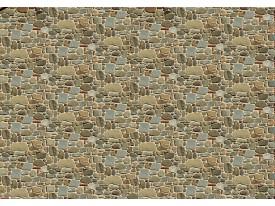 Fotobehang Vlies   Muur, Stenen   Grijs   368x254cm (bxh)
