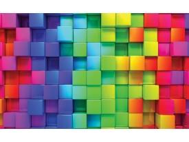 Fotobehang Vlies | Kleurrijk, Modern | Groen | 368x254cm (bxh)