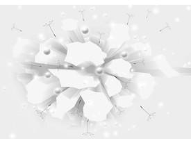 Fotobehang Vlies | Modern, 3D | Wit | 368x254cm (bxh)