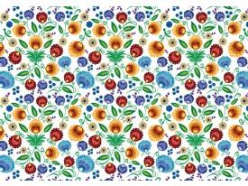 Fotobehang Vlies | Klassiek | Oranje, Blauw | 368x254cm (bxh)