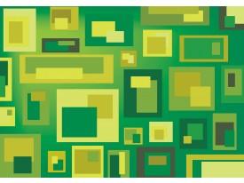 Fotobehang Vlies   Design   Groen, Geel   368x254cm (bxh)