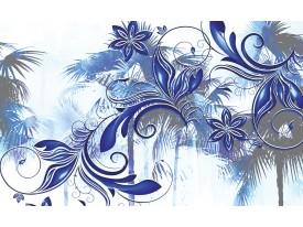 Fotobehang Vlies | Abstract, Modern | Blauw | 368x254cm (bxh)