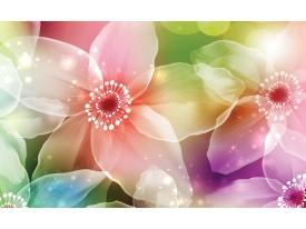 Fotobehang Vlies | Bloemen | Roze, Paars | 368x254cm (bxh)