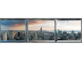 Fotobehang Vlies New York | Grijs | GROOT 832x254cm