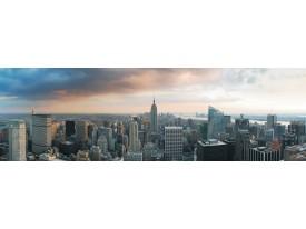 Fotobehang Vlies New York | Grijs | GROOT 624x219cm