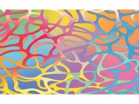 Fotobehang Vlies | Abstract | Roze, Blauw | 368x254cm (bxh)