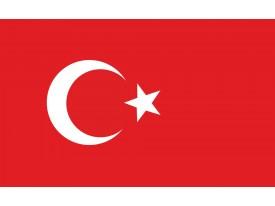 Fotobehang Vlag | Wit, Rood | 152,5x104cm