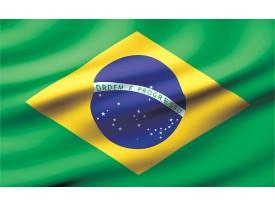 Fotobehang Papier Vlag | Groen, Geel | 368x254cm