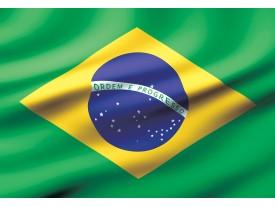 Fotobehang Vlies | Vlag | Groen, Geel | 368x254cm (bxh)
