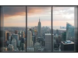 Fotobehang Vlies | New York | Grijs | 368x254cm (bxh)