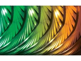 Fotobehang Vlies | Abstract | Groen | 368x254cm (bxh)