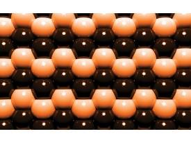 Fotobehang Papier Abstract   Oranje   254x184cm