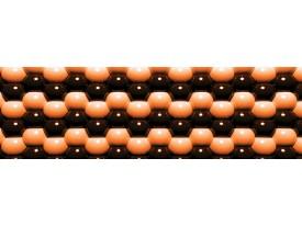 Fotobehang Vlies Abstract | Oranje | GROOT 624x219cm