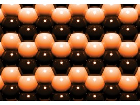 Fotobehang Vlies | Abstract | Oranje | 368x254cm (bxh)