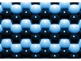Fotobehang Vlies   Abstract   Blauw   368x254cm (bxh)