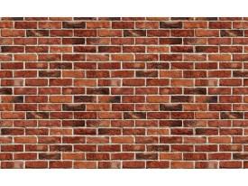 Fotobehang Papier Brick   Rood, Bruin   368x254cm