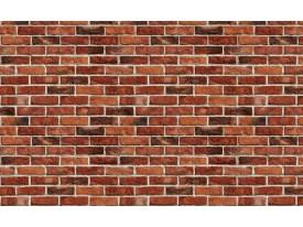 Fotobehang Vlies | Brick | Rood, Bruin | 368x254cm (bxh)