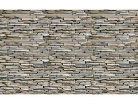 Fotobehang Vlies | Brick | Grijs | 368x254cm (bxh)