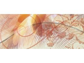Fotobehang Abstract | Crème | 250x104cm