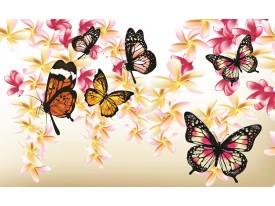 Fotobehang Papier Abstract   Crème   254x184cm
