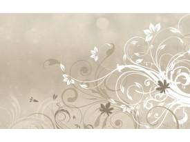 Fotobehang Papier Abstract | Crème | 254x184cm