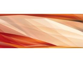 Fotobehang Abstract | Crème, Oranje | 250x104cm