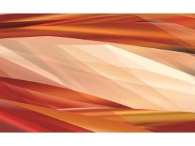 Fotobehang Abstract | Crème, Oranje | 104x70,5cm