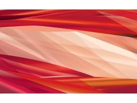 Fotobehang Vlies | Abstract | Crème, Rood | 368x254cm (bxh)