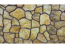 Fotobehang Stenen | Geel | 104x70,5cm