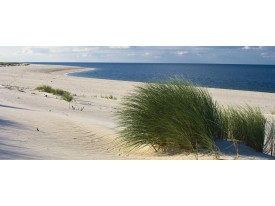 Fotobehang Strand   Blauw   250x104cm