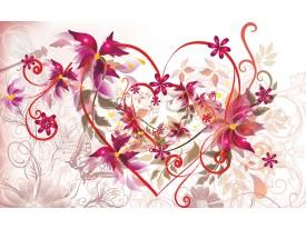 Fotobehang Papier Art   Paars   254x184cm