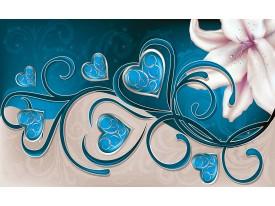 Fotobehang Art   Turquoise   416x254