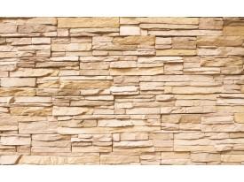 Fotobehang Brick | Crème | 416x254