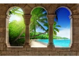 Fotobehang Vlies | Tropisch | Groen | 368x254cm (bxh)