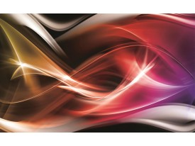Fotobehang Papier Abstract | Rood | 254x184cm