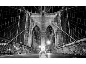 Fotobehang Vlies | Brug | Zwart | 368x254cm (bxh)