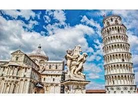 Fotobehang Vlies | Pisa | Blauw | 368x254cm (bxh)