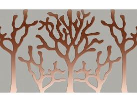 Fotobehang Vlies | Abstract | Bruin | 368x254cm (bxh)