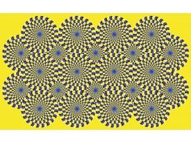 Fotobehang Vlies | Abstract | Geel | 368x254cm (bxh)